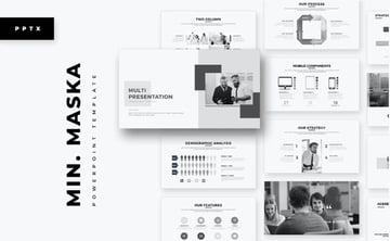 Minimalist PowerPoint background