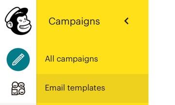 Mailchimp HTML templates
