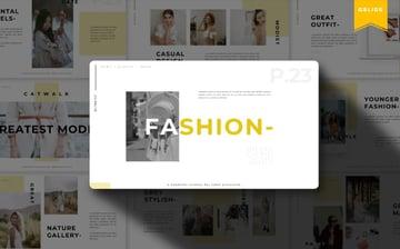 typography fashion pretty slides