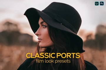 8classic ports Lightroom preset