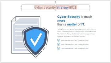Cyber security presentation PPT 2021