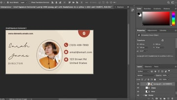 Beautiful email signature templates images