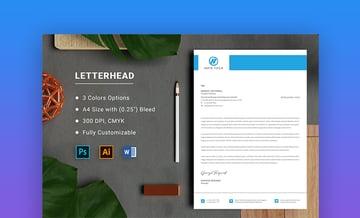 Letterhead turn Word doc into template