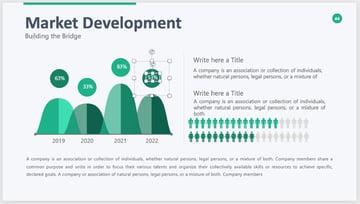 Infographic professional presentation