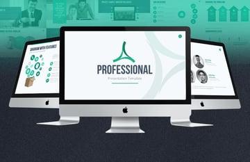 Template professional presentation