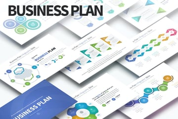 30 60 90 day plan template PowerPoint infographics