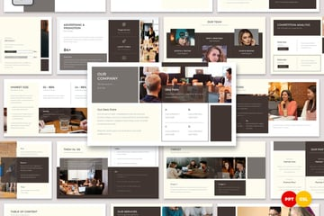 Ourplan 90 day plan template PowerPoint