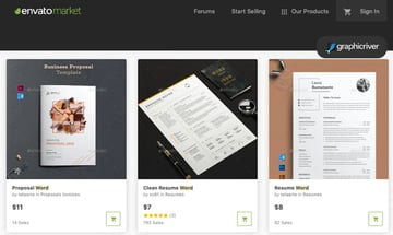 GraphicRiver InDesign templates