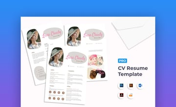 Resume InDesign to Word