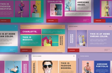 Pastel PPT template