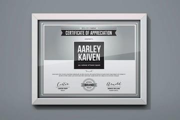basics editable certificate template word
