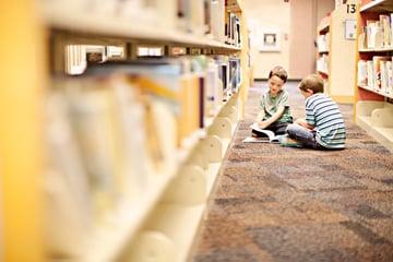 Reading children literacy events