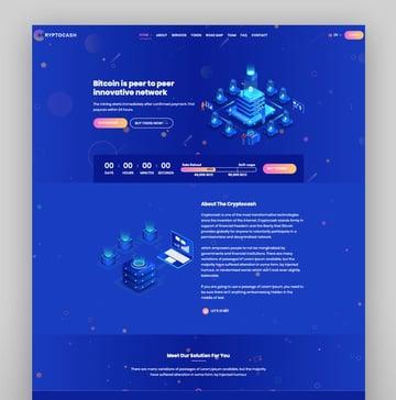 Cryptonite - Tema de WordPress para blockchain y criptomonedas