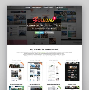 Soledad Best Theme With Visual Composer