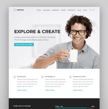 Unicon  Design-Driven Multipurpose Theme