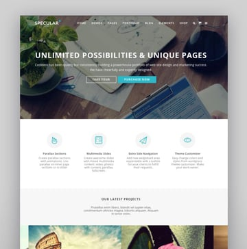Specular - Responsive Multi-Purpose Business Theme