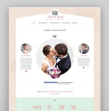 Wedding Day - Wordpress Theme