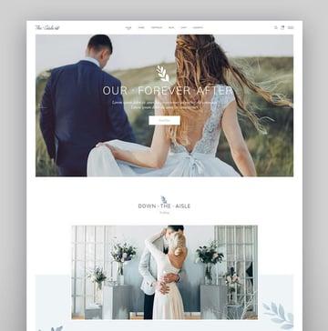 The Aisle - Elegant Wedding Theme