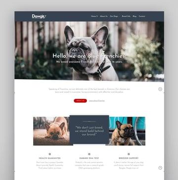 Dawg - WP Dog Breeder theme