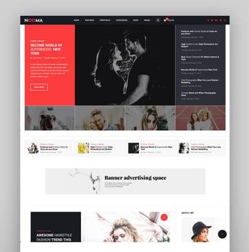 Nooma - A Responsive WordPress Blog Theme