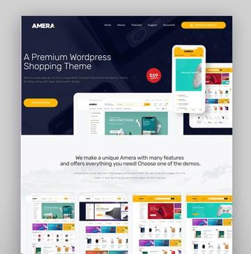 Amera - Digital WooCommerce WordPress Theme