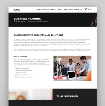 Kulluu - Creative Agency WordPress Theme