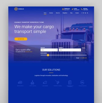Wheelco - Cargo Transport Logistics