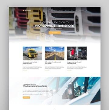 Transport - WP Transportation Logistic Theme