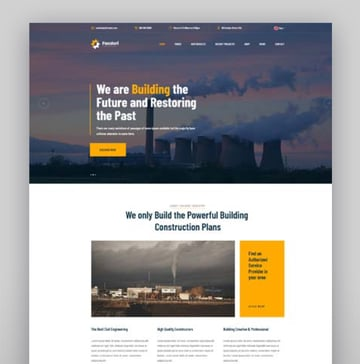 Facdori - Factory and Industrial Business WordPress Theme