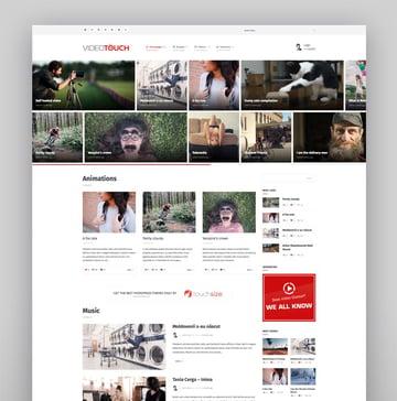 VideoTouch - WordPress Video Store Theme
