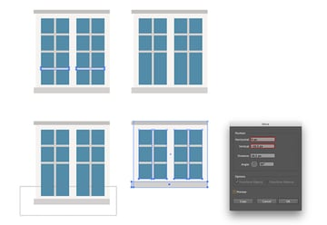 Building the smaller window
