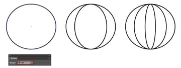 Creating Three Circles