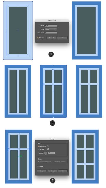 Rendering a large window