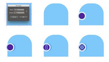 Creating a helmet basic shape and a side face plate