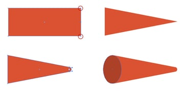 Creating a Red Cone