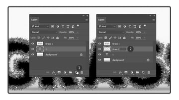 Creating the second brush layer
