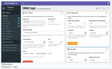 IMABuildeRz Universal AppBuilder for Ionic