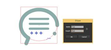 Create three circles