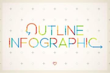 Outline Infographic Bundle