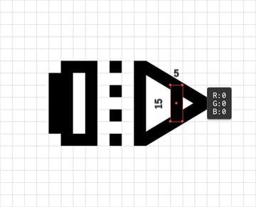tip shape rectangle