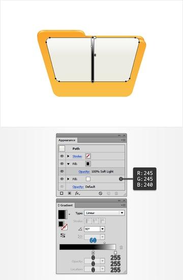 file shape color