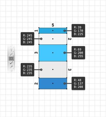 rectangles column