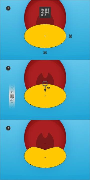 tongue shape