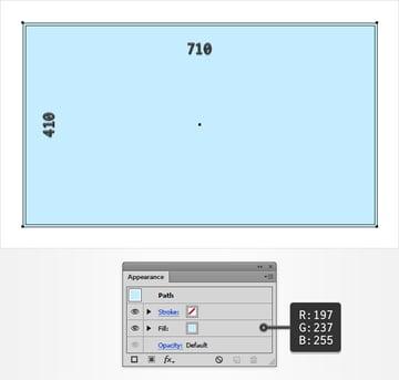 background rectangle