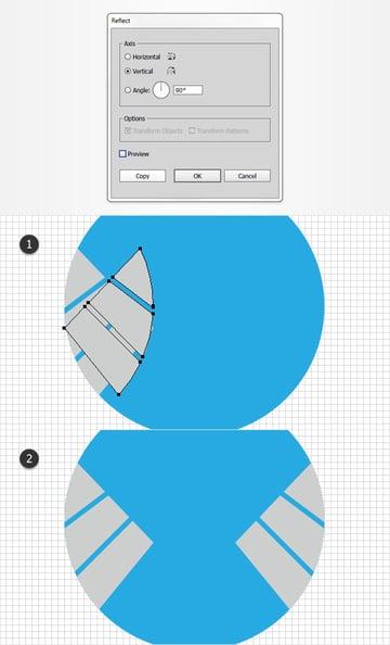 duplicate grey compound path