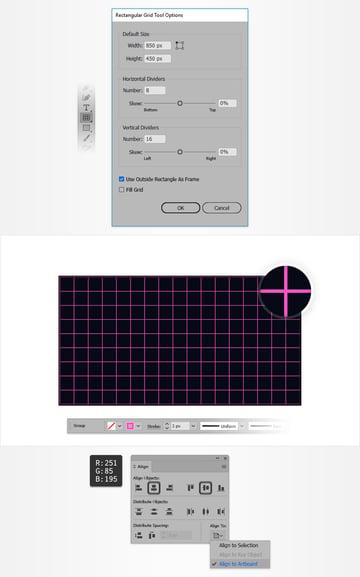 rectangular grid tool