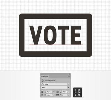 text VOTE
