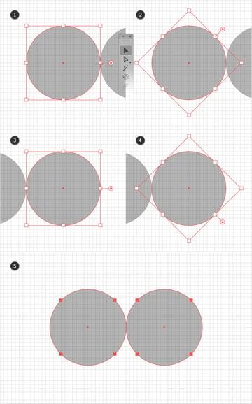 rotate ellipse