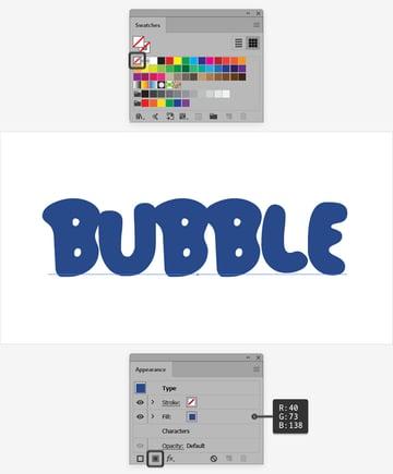 cute bubble fonts