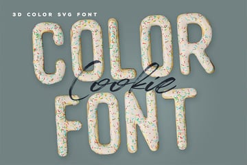Cookie SVG Font